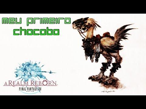 Final Fantasy XIV A Realm Reborn - Meu Primeiro Chocobo =D