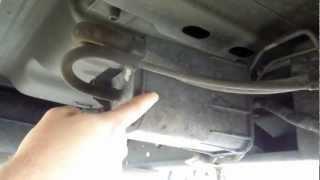 1999 Dodge Dakota 3 9l Magnum Slt Evap Canister Location Youtube