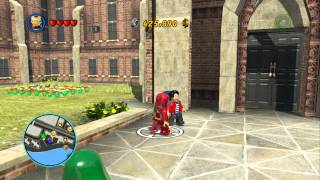 LEGO Marvel Super Heroes Open World Free Roam
