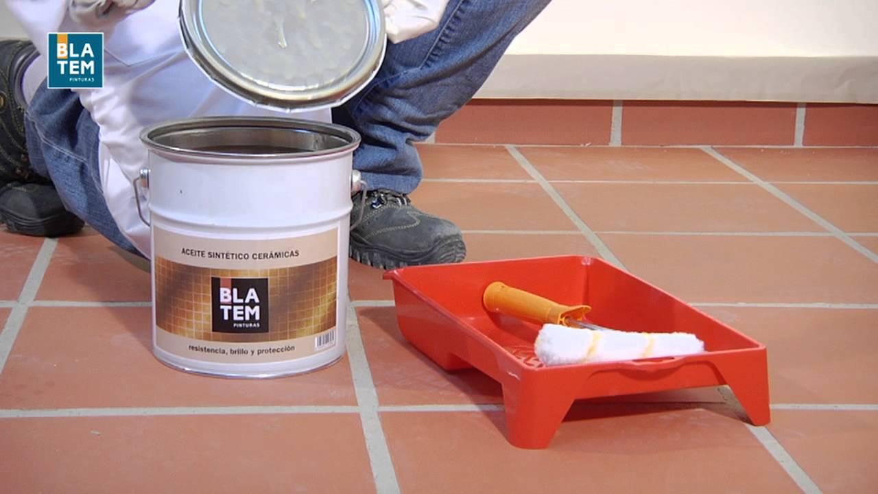 C mo pintar baldosas cer micas youtube - Pintura para baldosas ...