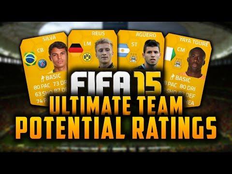 FIFA 15 | POTENTIAL PLAYER RATINGS! - YAYA TOURÉ, AGÜERO, THIAGO SILVA, REUS!