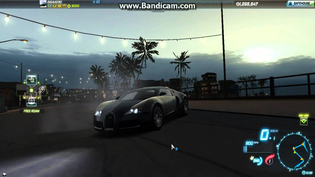 nfs world getting to 5000 points and obtaining bugatti veyron test drives. Black Bedroom Furniture Sets. Home Design Ideas