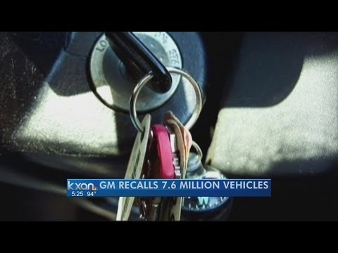 GM recalls 8.2 million cars for ignition switches