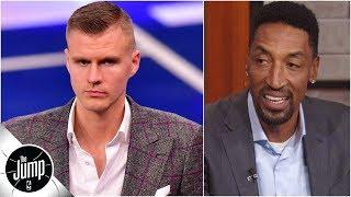 Knicks will regret trading Kristaps Porzingis once he returns - Scottie Pippen l The Jump