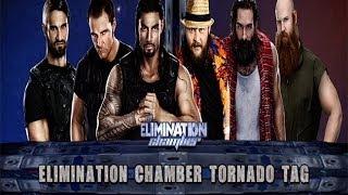 WWE 2K14: The Shield Vs The Wyatt Family- Elimination