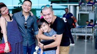 Chồng cũ ra sân bay đón Kim Hiền và hai con sau hai năm xa cách - Tin Tức Sao Việt