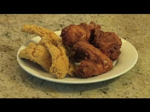 How to Make the Batter for Deep-Fried Fish or Chicken : Southern Cooking