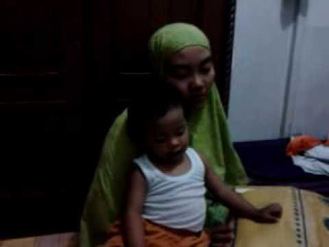 2 years kid girl reciting alfatiha-bangkinang
