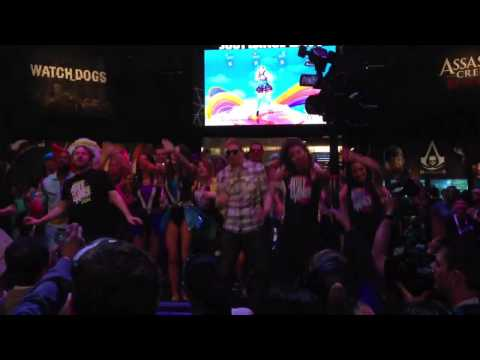 E3 2013 Just Dance demo Starships
