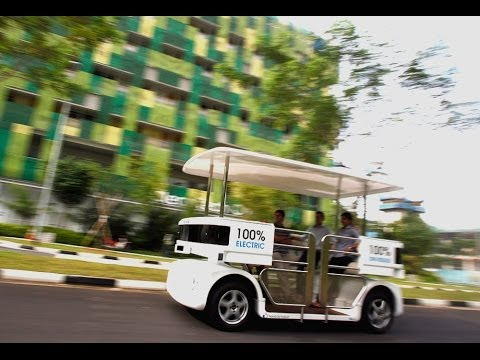 Are Electric Cars the Future for Singapore's Drivers? (LinkAsia: 1/3/14)