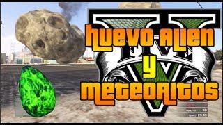 GTA V Online - Huevo Alíen y Meteoritos - ¿Easter Egg Ocultos?