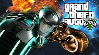 GTA 5 - LE FLIPPING YOUR WORLD UPSIDE DOWN!!! (GTA 5 PC Online Funny Moments)