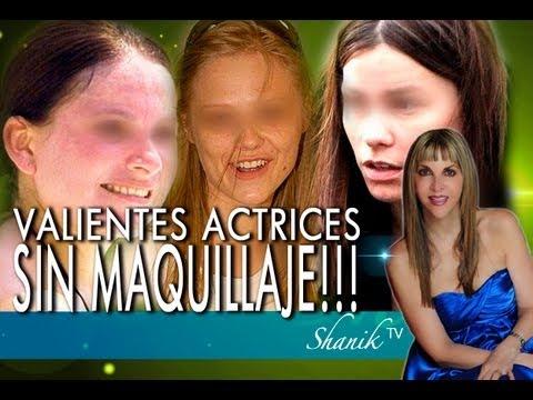 QUÉ VALOR DE ESTAS ACTRICES AL SALIR SIN MAQUILLAJE!!! Shanik Tv ok