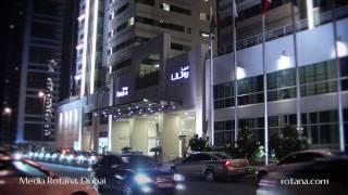 Media Rotana Hotel in Dubai, United Arab Emirates view on youtube.com tube online.