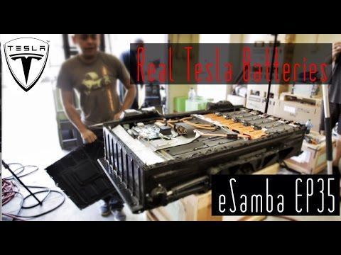 Real Tesla Batteries - eSamba EP 35