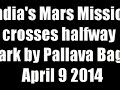 Landmark crossed for ISRO's Mars mission