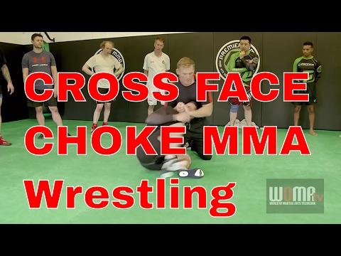 CROSS FACE CHOKE MMA Tips Catch Wrestling pt2