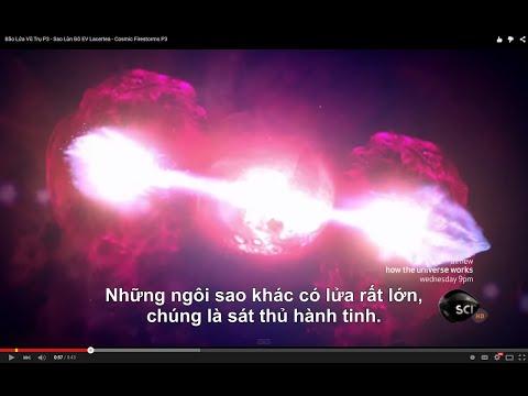 Bão Lửa Vũ Trụ P3 - Sao Lùn Đỏ EV Lacertea - Cosmic Firestorms P3