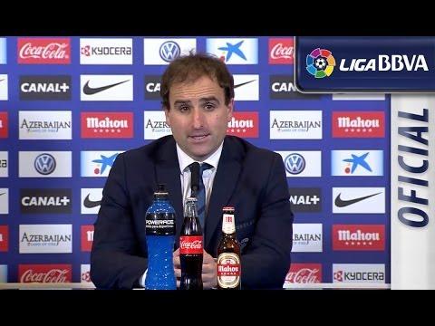 Rueda de Prensa de Arrasate tras el Atlético de Madrid (4-0) Real Sociedad - HD