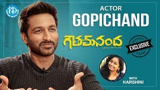 Goutham Nanda Movie Hero Gopichand Exclusive Interview