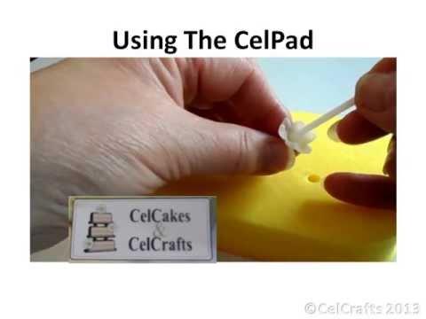 CelCakes CelPad 2 sugarcraft foam modelling pad