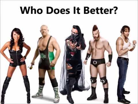 Gail Kim vs Fit Finlay vs Havok vs Sheamus vs Dean Ambrose- Over the shoulder back to belly piledriv