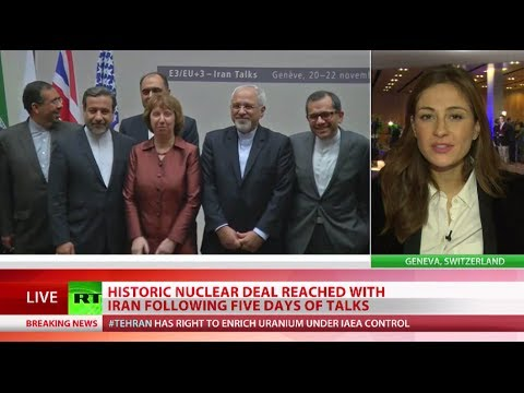 P5+1 & Iran agree landmark nuclear deal at Geneva talks