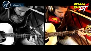 Mi Corazon Encantado DRAGON BALL GT Guitarra Cover Christianvib