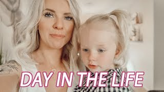 DAY IN THE LIFE OF A MOM / She's Starting Preschool!