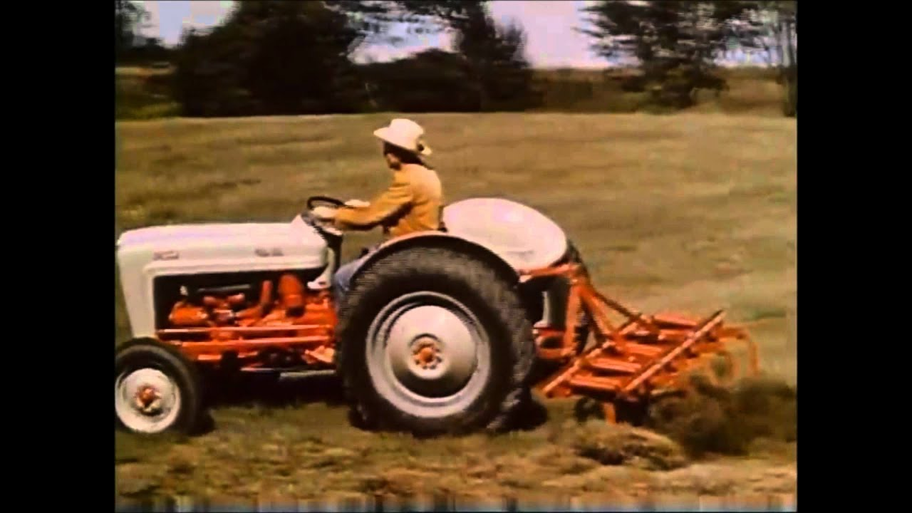 1954 Ford 8n Tractor : The ford naa quot golden jubilee youtube