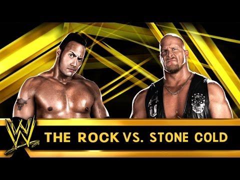 The rock vs stone cold wrestlemania 19 wwe 2k14