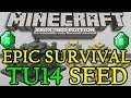 Minecraft ( TU16 ) BEST Survival Seed Xbox 360   PS3