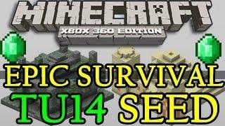 Minecraft ( TU16 ) BEST Survival Seed Xbox 360 / PS3
