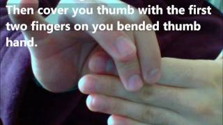How To Pull Your Finger Off (Magic)