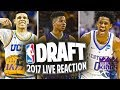 2017 NBA DRAFT LIVE REACTION JIMMY BUTLER TRADED