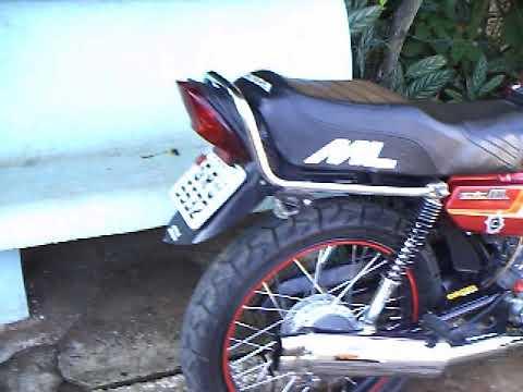 ML125 TUNADA SUPER MOTO tuning NAO TEM IGUAL 1985.