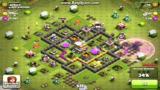 CLASH OF CLANS BEST TH 6 BASE 1800 TROPHIES