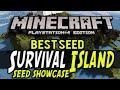 Minecraft PS4 - BEST Survival Island Seed - Minecraft