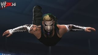 WWE 2K14 Created Superstars: Jeff Hardy (4 WWE Attires