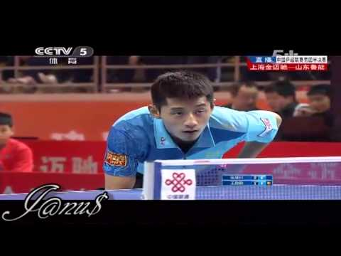 2012/13 China Super League: ZHANG Jike - WANG Liqin [Full Match/Short Form]