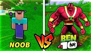Troll NOOB Bằng BEN 10 Trong Minecraft!!