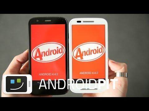 Moto G vs Moto E: qual melhor custo/benefício? | AndroidPIT