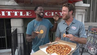 Barstool Pizza Review - Bearno's Pizza With Special Guest Desmond Howard (Bonus Lil' Lamar Jackson)