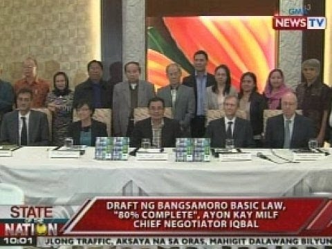 SONA: Primer ng Bangsamoro Basic Law, inilunsad kanina ng Bangsamoro Transition Council