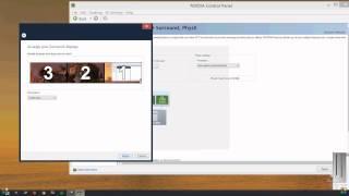 PC-How To Setup Nvidia Surround! 3 Monitors (1080p Video