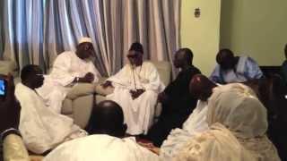 Khalifa Sall en visite à Touba
