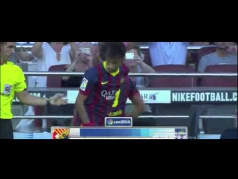 Neymar vs Levante (H) 2013 League Debut By MercurialKidd7