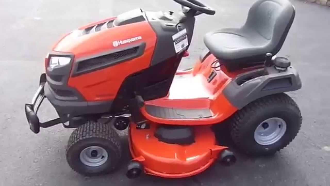 Husqvarna 46 Riding Lawn Mower : Quot husqvarna yth v xls hp briggs engine riding lawn