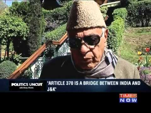 Politics Uncut: Farooq Abdullah - Part 1 (29th April 2014)