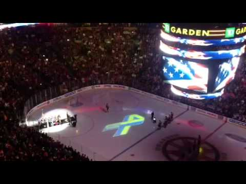 Bruins-Sabres National Anthem